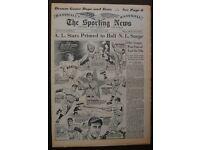 8x10 Print Joe DiMaggio Lou Gehrig 1937 World Series Mel Ott #JD99
