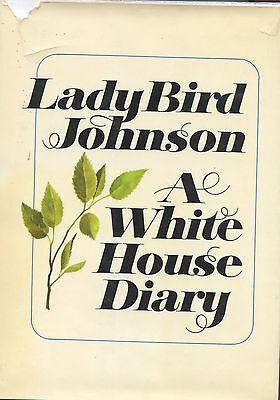 Lady Bird Johnson signed A White House Diary  - 1970, 1st. Ed.  VG+