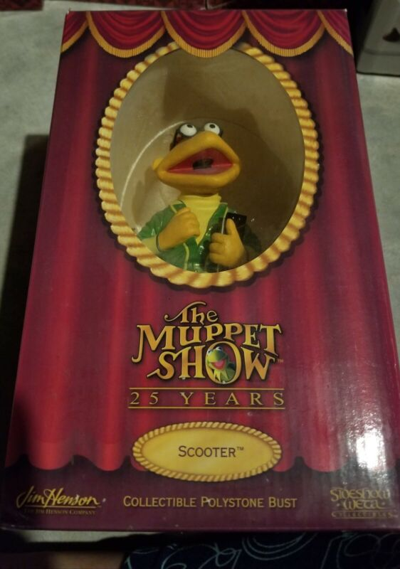WETA sideshow - the muppets scooter bust