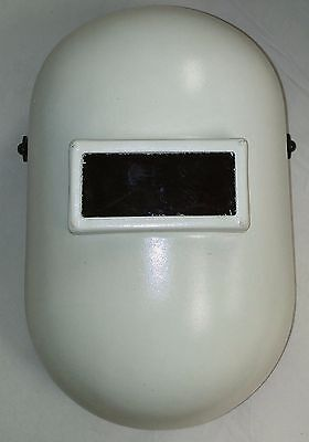 North White Fibre Metal Pipeliner Pasive Welding Helmet 5110pwebp