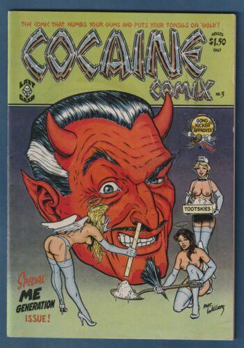 Cocaine Comix #3 - 1st Print - 1981 Last Gasp - Classic Robert Williams cover