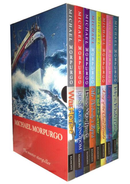 Michael Morpurgo Series 8 Books Set Children Collection Includes War Horse Pack