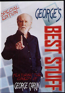 George Carlin sealed DVD - George's Best Stuff - 1996  SPECIAL EDITION FREE SHIP