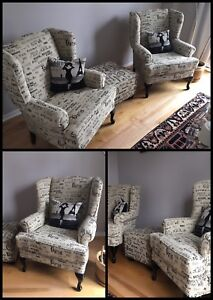 ⭐️ Reupholstery - Chairs / Sofas / Ottomans / Cushions ⭐️