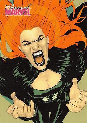 SIRYN / Women of Marvel 2008 BASE Trading Card #62 - Siryn Marvel