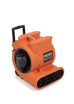 Ridgid 1625 Cfm Blower Fan Air Mover With Handle And Wheels Portable Orange