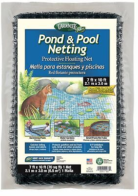 Dalen Gardeneer Fish Koi Pond & Pool Netting Cover Protective Floating Net 7x10