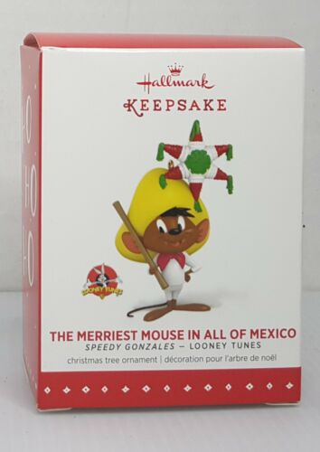 Hallmark Keepsake The Merriest Mouse in all of Mexico 2015 Speedy Gonzales