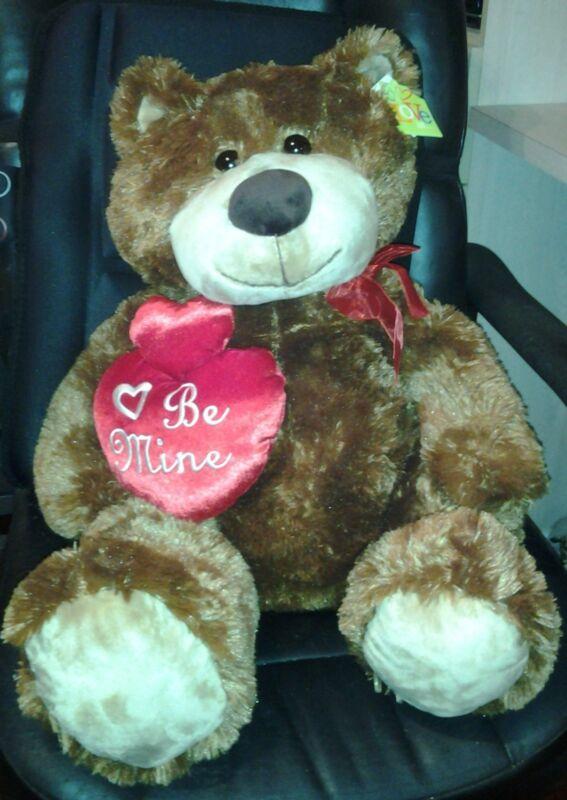 "32"" Teddy Bear Plush Golden Brown stuffed animal New"