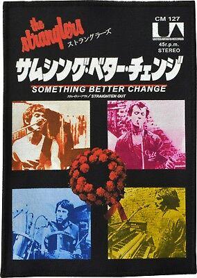 THE STRANGLERS VINYL STICKER STRAIGHTEN OUT JAPANESE JAPAN VINTAGE ADVERT PUNK