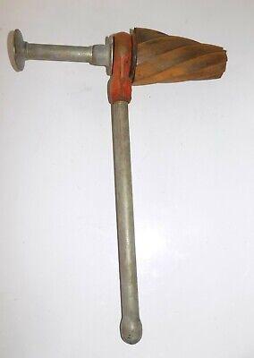 Used Ridgid No. 254 2-12 - 4 Spiral Ratchet Pipe Reamer Threader Plumbing