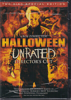 HALLOWEEN (DVD, 2007 2-Disc Set Unrated Directors Cut Widescreen) (V4)