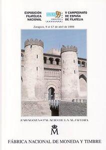 DOCUMENTO-FILATELICO-F-N-M-T-N-54-1999-EXFILNA-99-ZARAGOZA