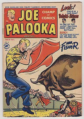 Joe Palooka #49, Fine Condition'