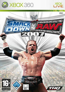 gioco-SMAK-DOWN-VS-RAW-2007-PER-XBOX-360