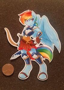 My Little Pony Sticker Rainbow Dash Scout Mashup