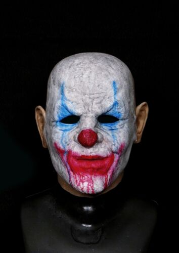 Boozy the Clown - Full Head Realistic Silicone Halloween Mask from Madness FX
