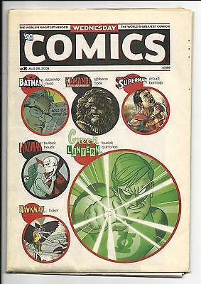 WEDNESDAY COMICS # 8 of 12 (DC COMICS, 26 AUG 2009), VF