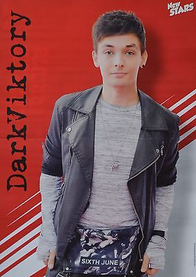 DARKVIKTORY - A3 Poster (ca 42 x 28 cm) - YouTube Star Clippings Fan Sammlung