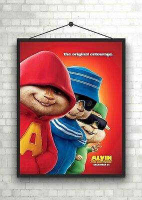 Alvin And The Chipmunks Classic Large Movie Poster Print A0 A1 A2 A3 A4