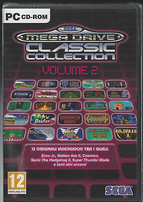 SEGA MEGA DRIVE CLASSIC COLLECTION VOLUME 2