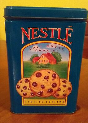 Vintage Nestle Toll House Cookie Tin Limited Edition Farm