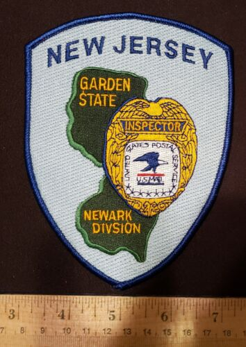 NEW JERSEY POLICE PATCH NEWARK DIVISION GARDEN STATE NJ