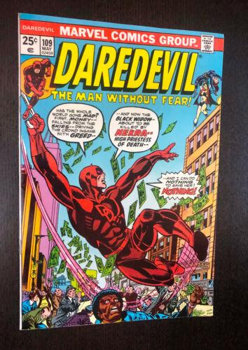 DAREDEVIL #109 (Marvel 1974) -- VF-