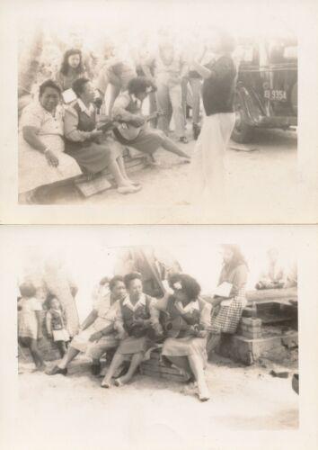 WWII 1940s Hula Show, Korean hula dancer Hawaii 2 Photos