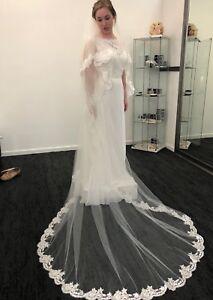 Wedding Dress & Veil - never worn!