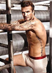 David Beckham A4 260gsm poster