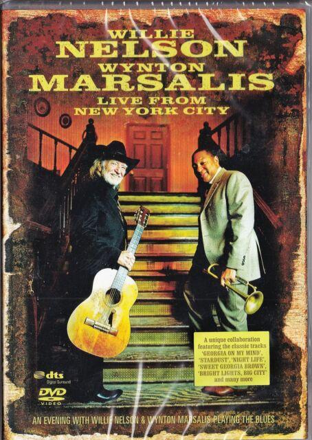 Willie Nelson & Wynton Marsalis - Live from New York City   *DVD*  NEU&OVP!