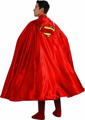 Rubies Superman Umhang Man Of Steel Logo Dc Comics Erwachsene Halloween Kostüm