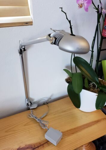 Humanscale LED Elements 790 Work/Table Lamp Light 90w Equivalent - Silver Finish