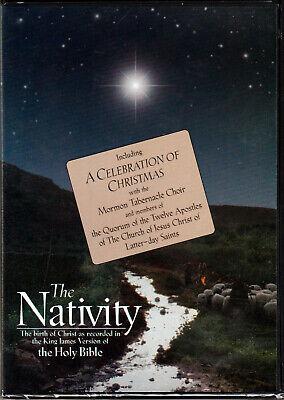 THE NATIVITY a CELEBRATION of CHRISTMAS on DVD Video JESUS Birth CHRISTIAN BIBLE ()