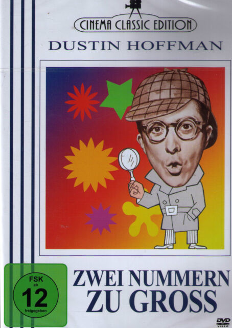 DVD NEU/OVP - Zwei Nummern zu gross - Dustin Hoffman & Cesar Romero