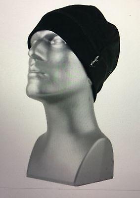 Mens Bec-Tech Black Fleece Mesh Winter Beanie Hat Cap Windproof-Waterproof
