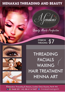 Menakas Threading & Beauty