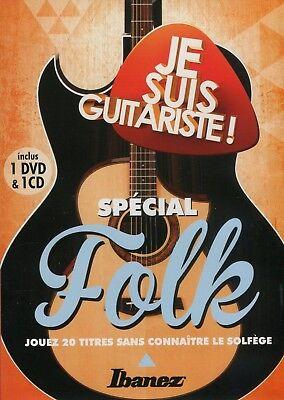 Je suis guitariste - I'm a guitar player : Special Folk (DVD + CD)