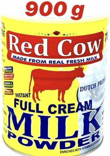 Red Cow Full Cream Milk Powder 900g Dutch Premium Netherlands.