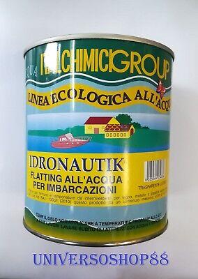 FLATTING ALL'ACQUA VERNICE TRASPARENTE LUCIDO IMBARCAZIONI 750 ML ITALCHIMICI