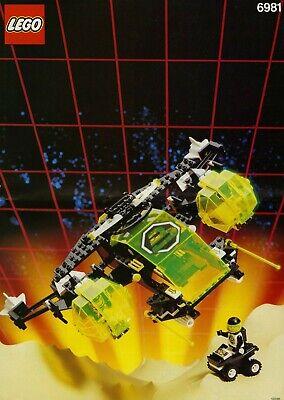 VINTAGE LEGO BLACKTRON 2 SET: 6981, AERIAL INTRUDER SPACE POLICE STAR WARS