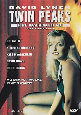 TWIN PEAKS: Fire Walk with Me - SHERYL LEE - DAVID BOWIE – SEALED  DVD
