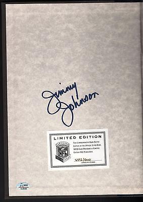 Jimmy Johnson Autograph Super Bowl XXVII Limited Edition Hardcover Program