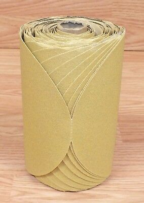 3m 236u Stikit P120c Grade Rn Fre-cut Open Coat 6 X Hn Sanding Paper Disc Roll