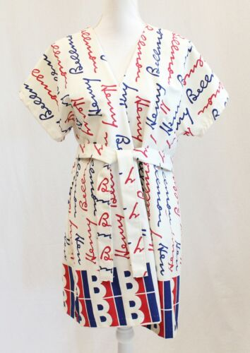 Vintage Henry Bellmon Oklahoma Republican Political Party Campaign Wrap Robe Top