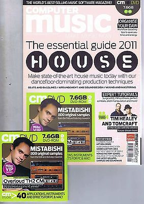 TIM HEALEY / MISTABISHIComputer Music + CDno.168Sep2011