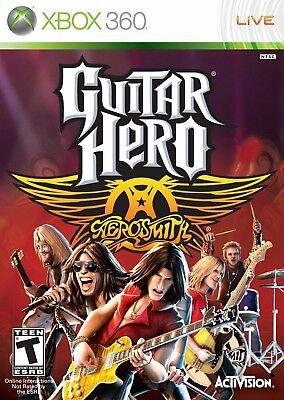 Guitar Hero Aerosmith Xbox 360 segunda mano  Embacar hacia Argentina
