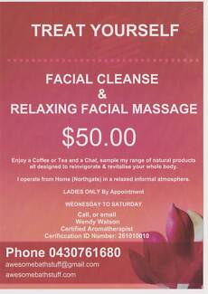 FACIAL CLEANSE & RELAXING FACIAL MASSAGE FOR LADIES Northgate Brisbane North East Preview