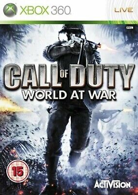 Call of Duty World at War XBox 360 NEW And Sealed FULL...